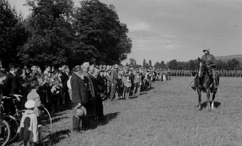 Frauenfeld Allmend Oberst Kobelt 1939