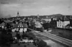 Frauenfeld Bahnübergang Kurzenerchingerstrasse um 1925