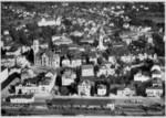 Frauenfeld Bahnhof Altstadt Flugaufnahme um 1950