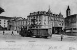Frauenfeld Bahnhof Dampflokomotive FW-Bahn um 1900