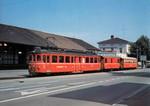 Frauenfeld Bahnhof Wilerbahn mit Anhänger 1080