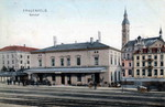 Frauenfeld Bahnhof um 1905