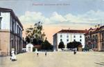 Frauenfeld Bahnhofplatz Kaserne um 1915