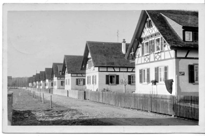 Frauenfeld Burgerholzstrasse um 1920