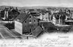 Frauenfeld Ergaten-Quartier Rebstrasse Zürcherstrasse um 1900