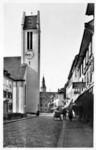 Frauenfeld Evangelische Kirche um 1930
