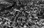 Frauenfeld Flugaufnahme Innenstadt Bahnhof
