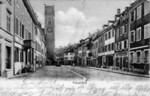 Frauenfeld Freiestrasse alte Kirche vor 1929