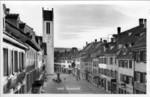 Frauenfeld Freiestrasse vom Bernerhaus herab um 1945