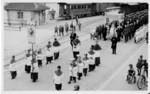 Frauenfeld Fronleichnamsprozession beim Wilerbahnhof