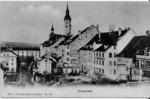 Frauenfeld Häuser Grabenstrasse um 1905