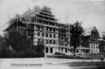 Frauenfeld Kantonsschule im Bau 1910