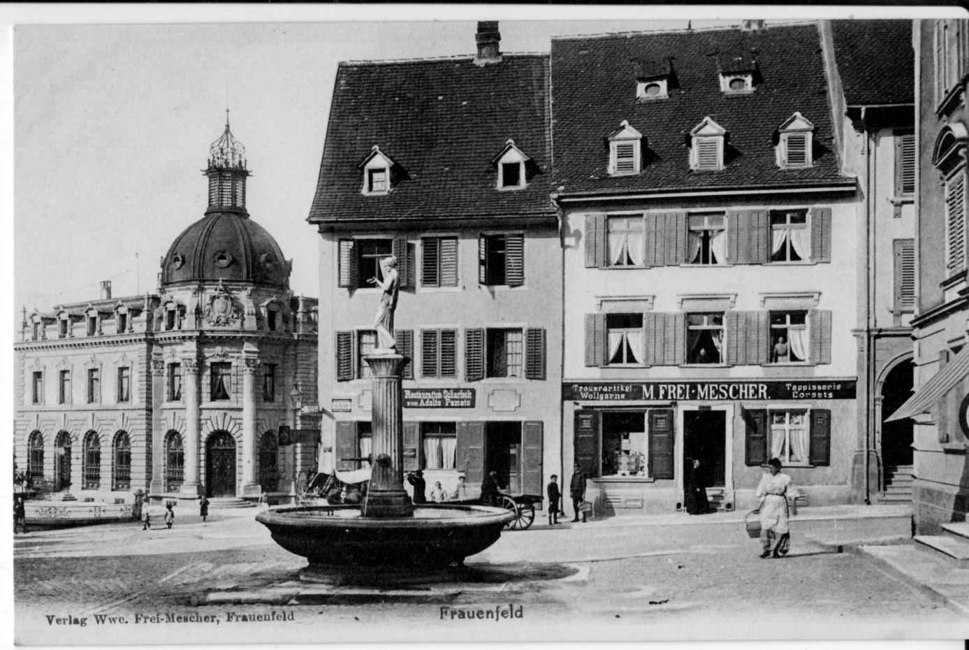 Frauenfeld alter Rathausbrunnen
