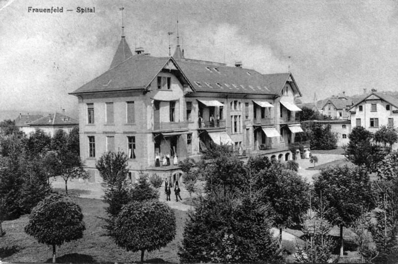 Frauenfeld altes Spital um 1910