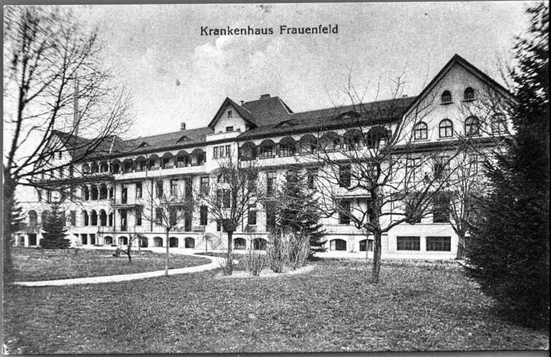Frauenfeld altes Spital um 1925