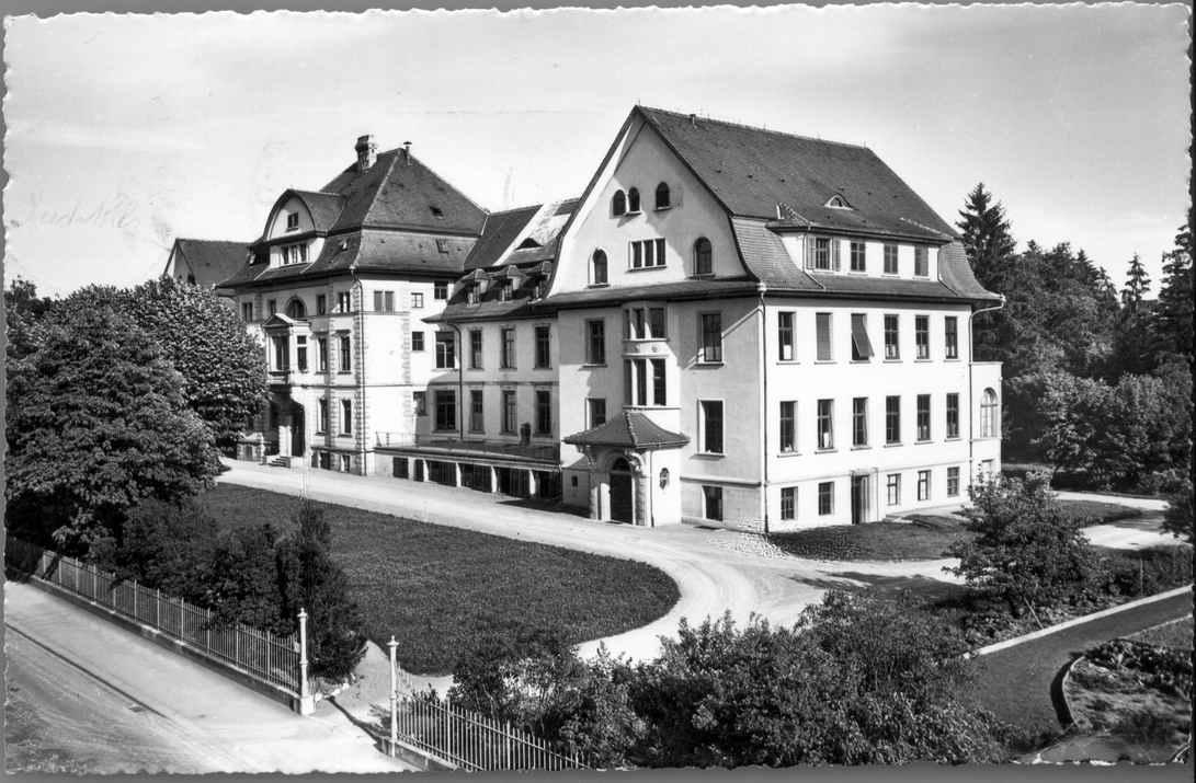 Frauenfeld altes Spital um 1950