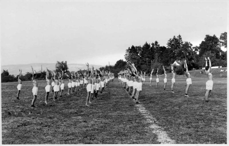 Kadettenfest Freiübungen Jahr unbekannt