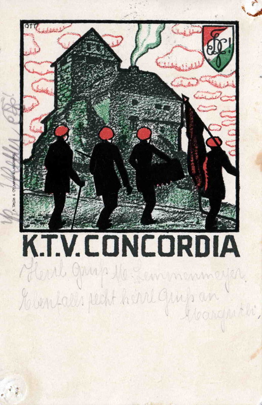 Karte Concordia 1919