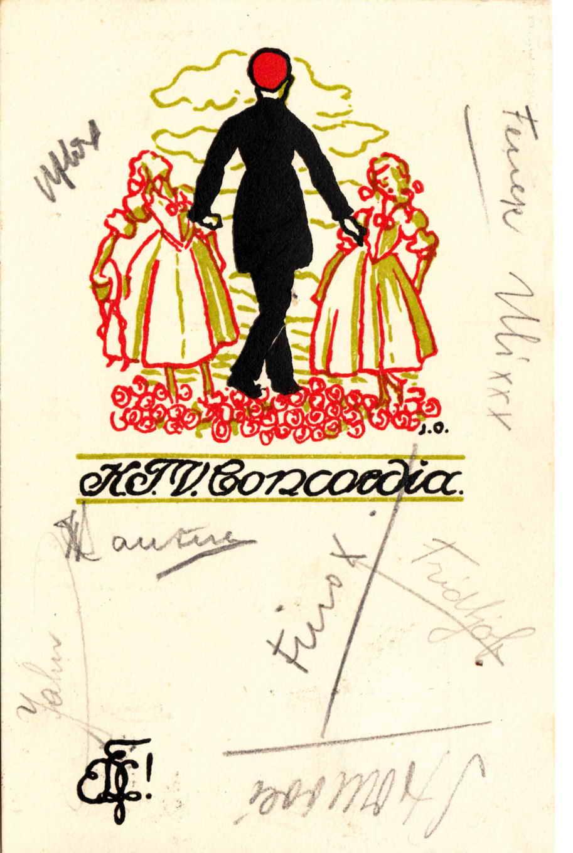 Karte Concordia 1920