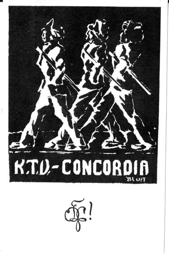 Karte Concordia 1930