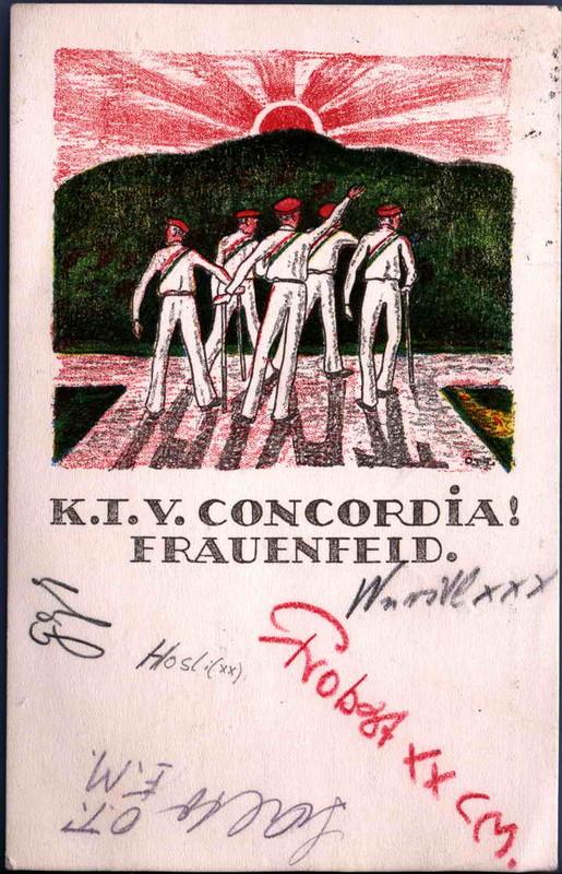 Karte Concordia 1924