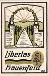 Karte Libertas 1922